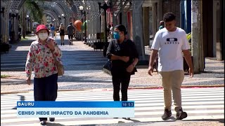 Bauru: Censo socioeconômico analisará impacto da pandemia.