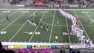 Richland High School Varsity Bomber Football vs. Kennewick Lions