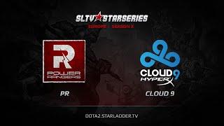 PR vs Cloud9, game 1