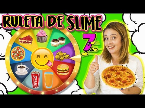 Ruleta De SLIME 7 | SLIME Food Vs REAL Food | Slime Roulette