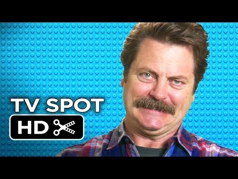 The Lego Movie TV SPOT – Nick Offerman (2014) – Will Ferrell Movie HD