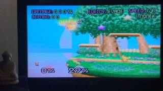 Just an intermediate player practicing advanced techniques, I discovered a guaranteed way to get a ledge cancel with fox on dreamland. (not best quality recording)