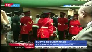 VIDEO: Body of Mama Lucy Kibaki leaves Lee Funeral Home