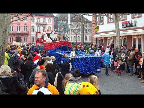 Über 5.000 Teilnehmer: 63. Jugendmaskenzug in Mainz