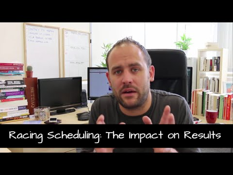 Race Scheduling: The Impact On Results