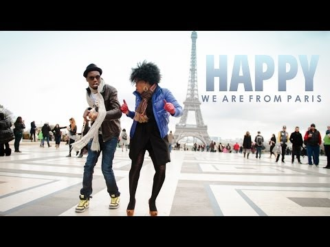 Paris - HAPPYDAY March 20 ! http://www.24hoursofhappiness.com First remake, INTERNATIONAL Happiness ! Original idea Tania Australis Directed by Rohan Houssein http:...
