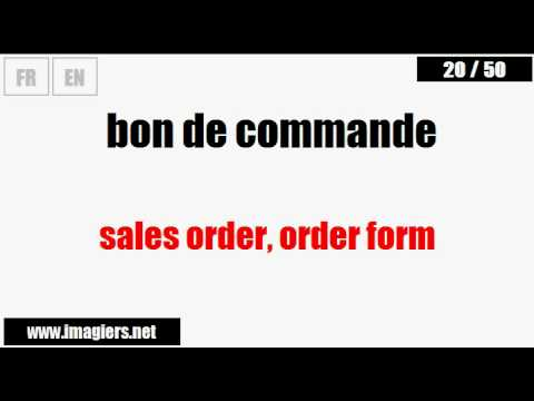 [French vocabulary] Business French #8