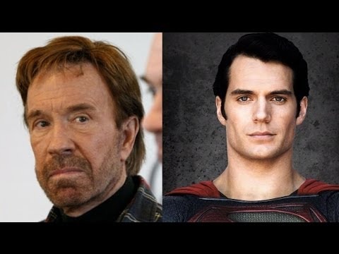 Superman vs Chuck Norris