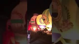 Night glow At Lubao International Balloon and Music Festival 2017