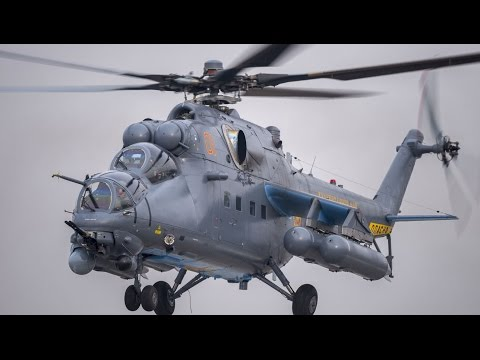 The Mi-35M is a multi-role combat...