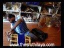 thavil - Instrument- 04- Testing in The Sruthilaya musical shop