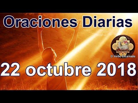 Palabras de amor - Oraciones diarias con amor Lunes 22 octubre 2018 Palabra de vida Evangelio de hoy