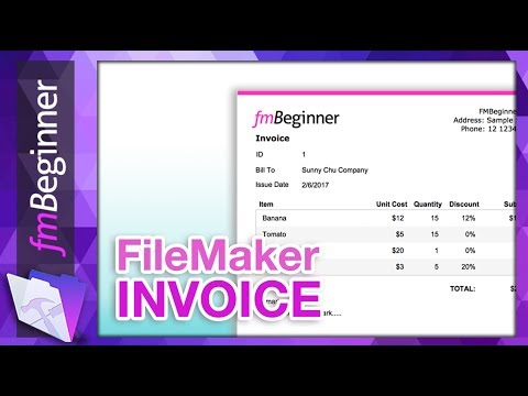 FileMaker Invoice Example