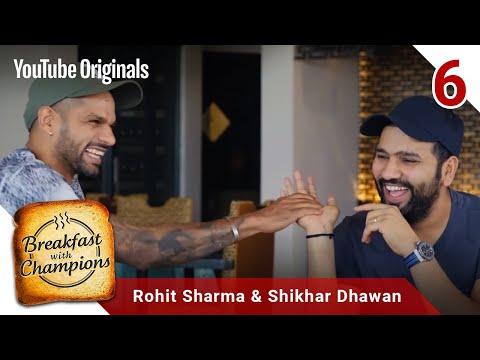 Episode 6 | Rohit Sharma & Shikhar Dhawan | Breakfast with Champions Season 6