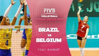 Brazil power through after a tough first set against Belgium much to the delight of the home crowd in Cuiaba.