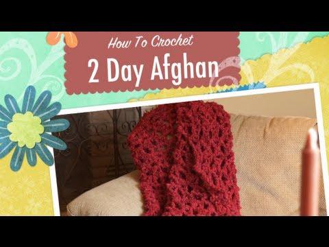 Crochet an Afghan in 2 Days