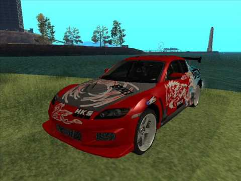 AUTOS TUNING DEL GTA SAN ANDREAS