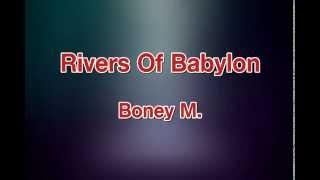 Rivers Of Babylon  Boney M karaoke