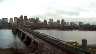 Full Day Time-Lapse Over Longfellow Bridge - Dec 22, 2014
