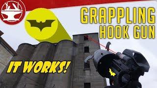 Video Make It Real: Batman Grappling Hook Gun MP3, 3GP, MP4, WEBM, AVI, FLV Oktober 2018