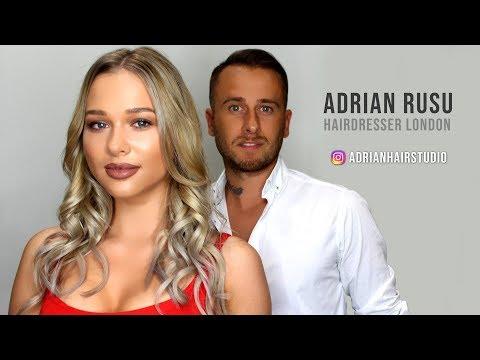 Unul dintre romanii de succes din Londra - Adrian Rusu ( Hairdresser )