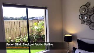 Roller Blinds Blockout Fabric Chain Control Ballina
