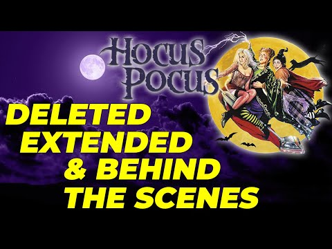 Hocus Pocus RARE DELETED, EXTENDED & Behind The Scenes