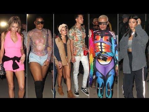 Celebrities Storm 2018 Coachella Weekend 1!: Kourtney Kardashian, Amber Rose And More!
