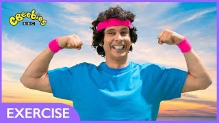 CBeebies | Andy's Wild Workouts | Up in the Air