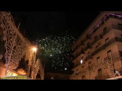 ACICATENA (Ct) - SANTA LUCIA 2016 - NUOVA PIROTECNICA di Nicola Occhino (Notturno)