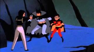 Batman,robin, and Nightwing vs. Gordon and Gothams cops