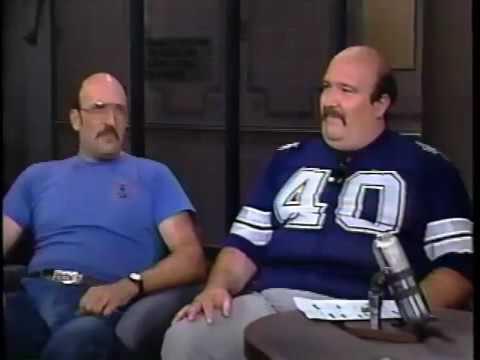 06231986 Letterman Linda Ellerbee & 06231987 Michael Keaton