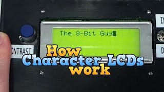 Video How a Character LCD works Part 1 MP3, 3GP, MP4, WEBM, AVI, FLV September 2019