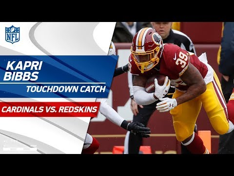 Video: Kapri Bibbs Takes the Screen Pass to the House vs. San Fran | Cardinals vs. Redskins | NFL Wk 15