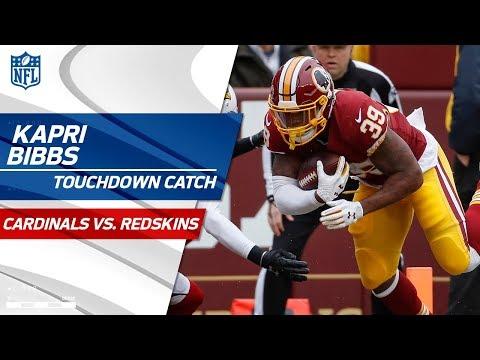 Video: Kapri Bibbs Takes the Screen Pass to the House vs. San Fran | Cardinals vs. Redskins | NFL Wk 15