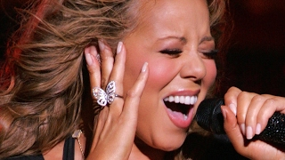 Mariah Carey hitting 'I Want To Know What Love Is' Whistle (2009)