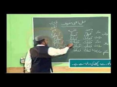 urdu arabic grammar class - Learn Arabic Grammar in Urdu - اردو زبان میں عربی گرائمر سیکھۓ - Lesson 8.