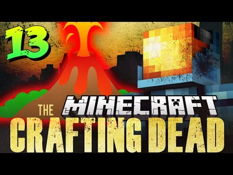 Minecraft Crafting Dead Mod Pack 13 | VOLCANO ZOMBIES! – Walking Dead in Minecraft