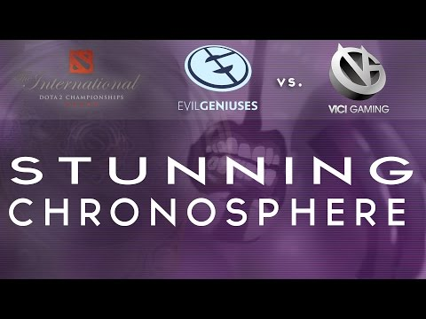 Highlight - Perfectly calculated chronosphere - VG vs EG @TI