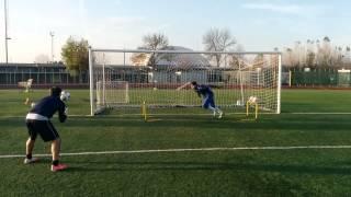 Allenamento Portieri AC Bellaria I. M. - acrobatica