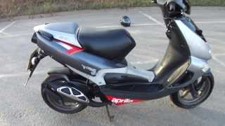 8. 2004 APRILIA SR50 SR 50 ERRE RACING CARB SCOOTER LC 55MPH+ VGC NEW MOT & TAX V5