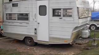 1971 Aristocrat Travel Trailer Modern Rehab Part 1