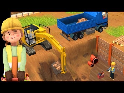 Little Builders App – Trucks, Cranes & Diggers | Top Best Apps For Kids