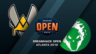 Vitality vs Fragsters - DreamHack Open Atlana 2018 - bo3, game 2 - de_Cache [Enkanis]