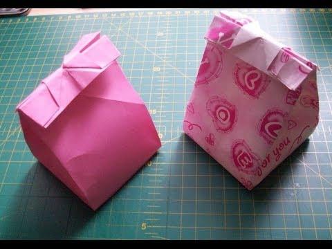 Легкие подарки из бумаги своими руками
