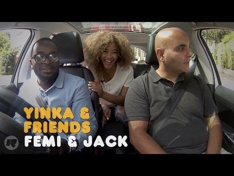 YINKA & FRIENDS: FEMI & JACK ('IT'S A LOT' CAST)