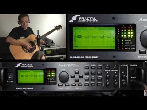 AxeFx2 Tutorial (EN): Great Acoustic Guitar Sound with Tonematching