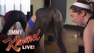 The Ultimate Sexy Level Of Yoga Pants: Spray-On Pants