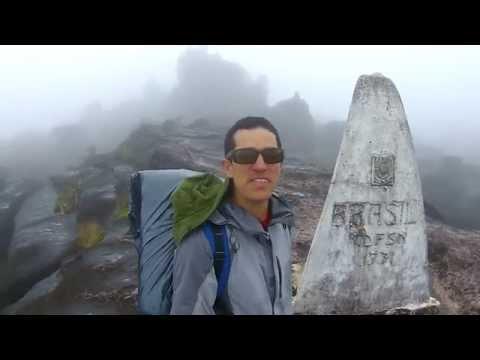 A curiosa tríplice fronteira no Monte Roraima