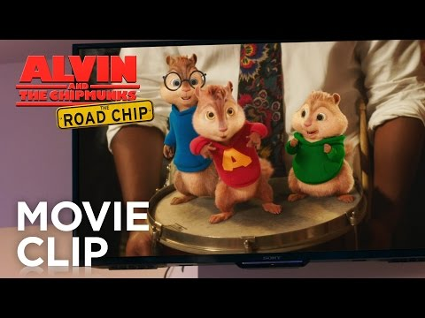Alvin and the Chipmunks: The Road Chip (Clip 'Uptown Munk')